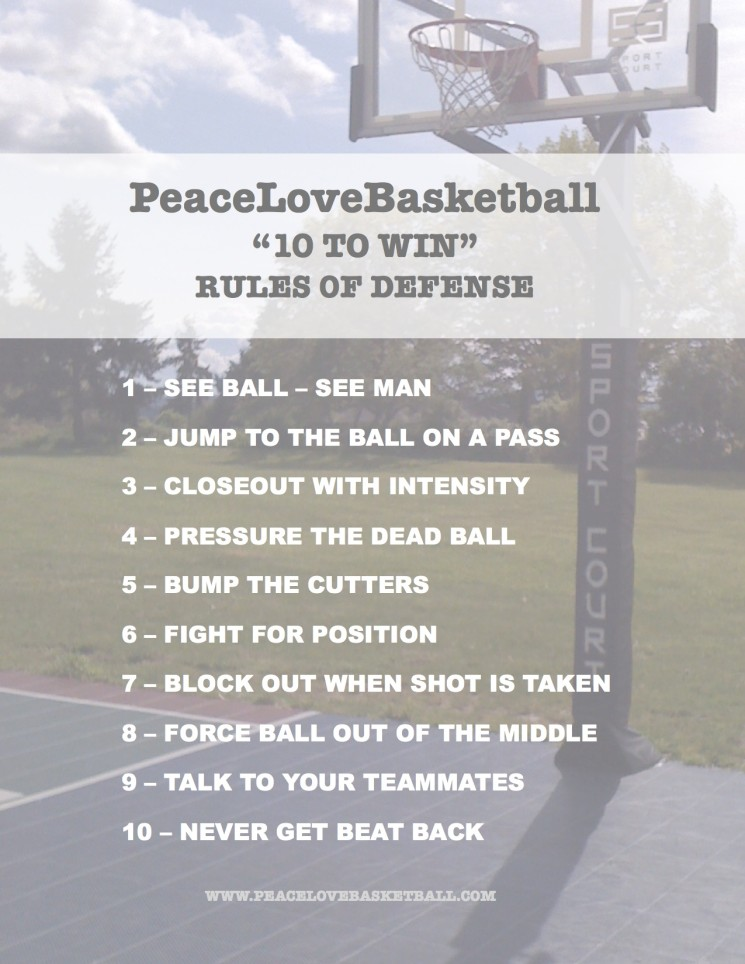 PeaceLoveBasketball 10 to Win Defense pic