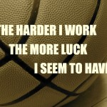 PeaceLoveBasketball Friday: Bring on The Luck!